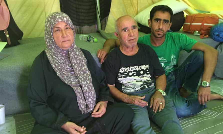 Hendiya Asseni with her husband Badreddine their son Mohammad