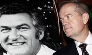 Bob Hawke and Bill Shorten