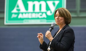 Public records show Klobuchar's primary campaign accepted $1,000 from Linda Fairstein in March last year and does not appear to have returned the funds.