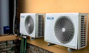 HFCs are mainly used in air-conditioning systems in rich countries.