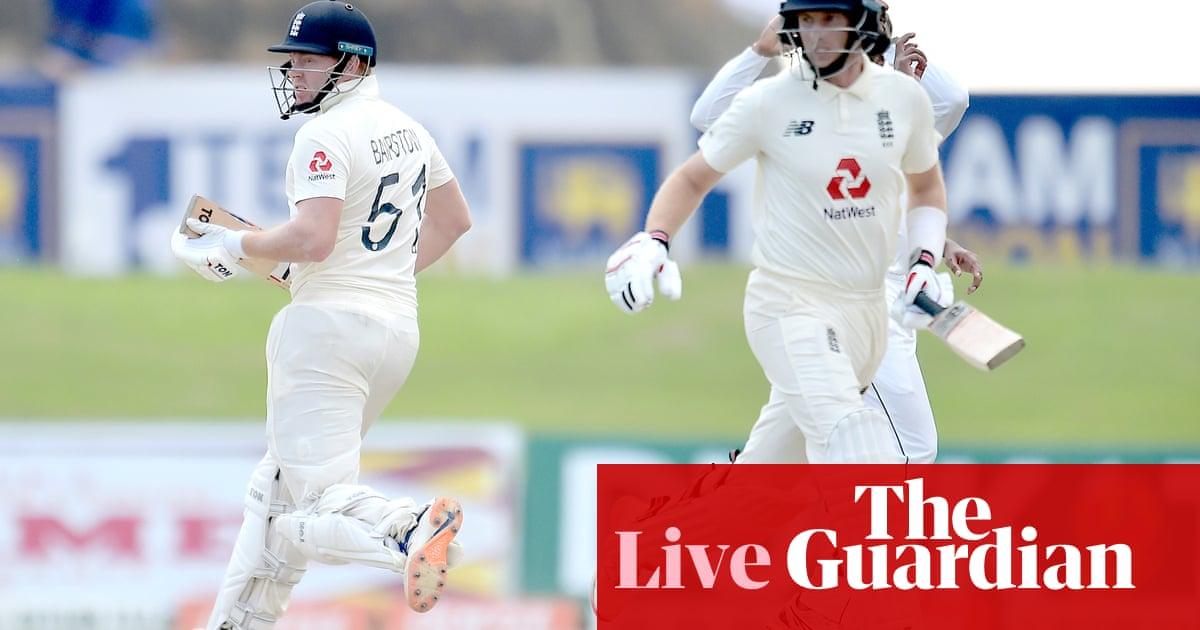Sri Lanka v England: second Test, day three – live!