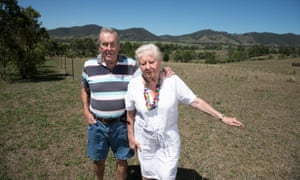 Chris and Peggy Vavasour: 'virtually all our guests comment on the beauty of the valley and its quiet, pristine appearance. The mine would kill that.'