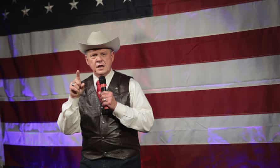 Roy Moore became the first Republican to lose a Senate race in Alabama in 25 years during the December election.