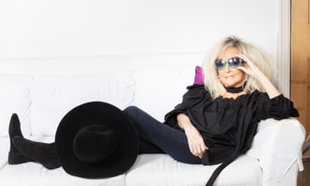 'Would you say to David Attenborough he shouldn't be doing wildlife films any more?' Annie Nightingale, photographed at home in London.