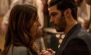 Not one for the showreel … Zoe Kazan and Tahar Rahim in The Kindness of Strangers.