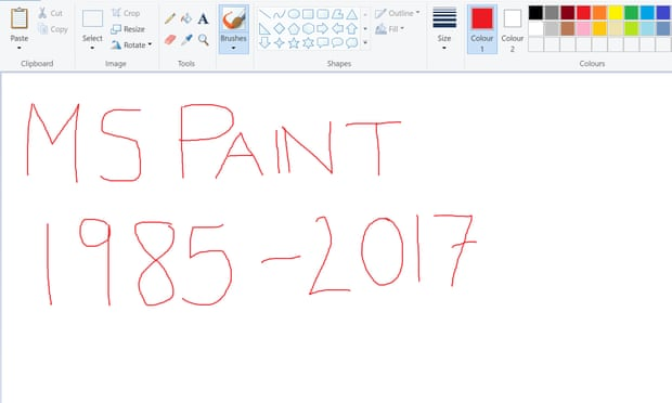 theguardian.com - Samuel Gibbs - Microsoft is planning to kill off Paint after 32 years