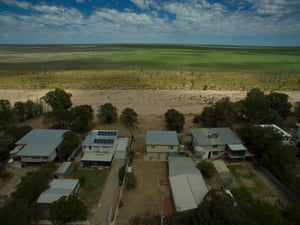 Sunset Strip, which sits on the dry shores of the Menindee Lakes in NSW