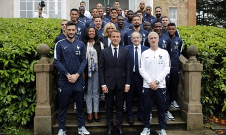 Political Football Macron Banking On France S World Cup Success France The Guardian