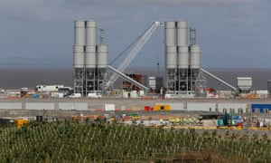 Workers at Hinkley Point