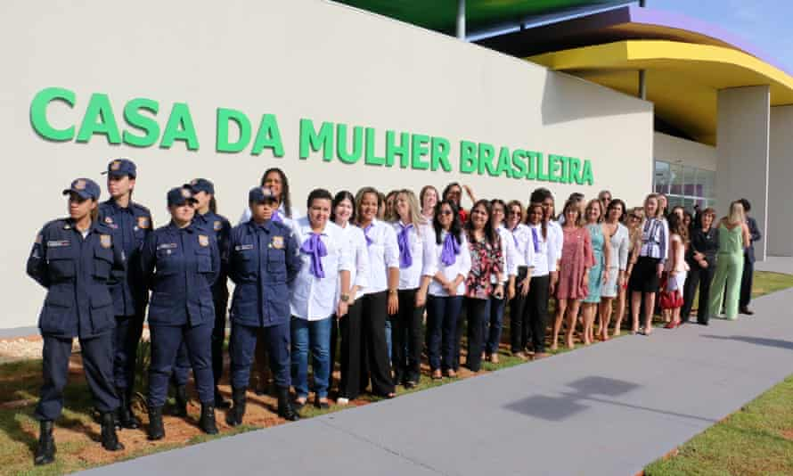 The staff behind the integrated care programme at the first Casa da Mulher Brasileira.