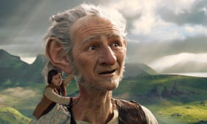 'Words is oh such a twitch tickling problem' … The BFG