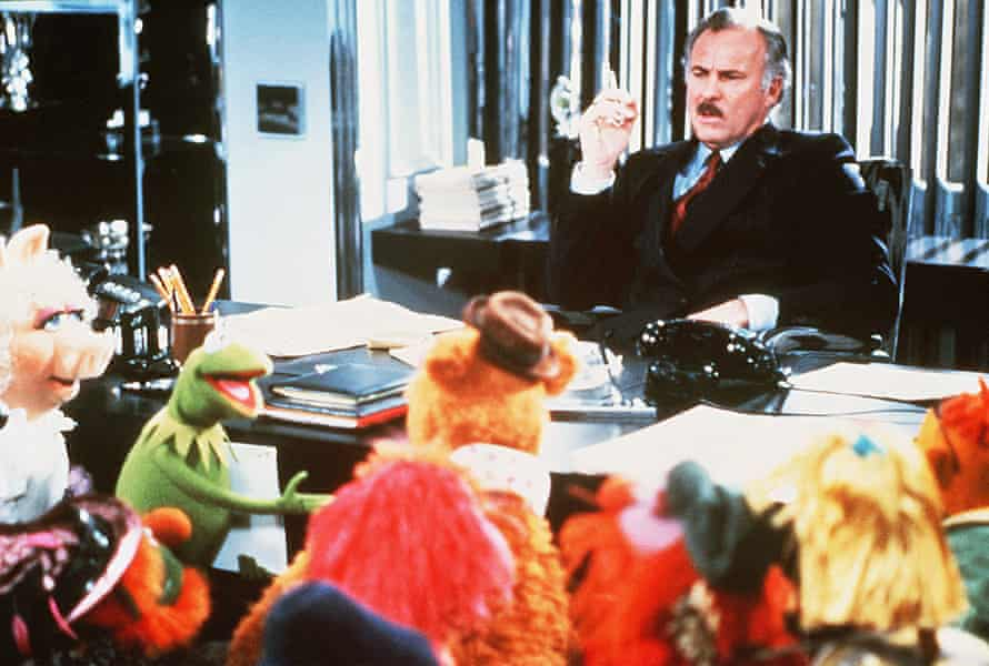 Dabney Coleman meets the Muppets.