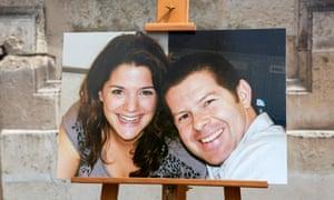 A photo of Jean-Baptiste Salvaing and Jessica Schneider