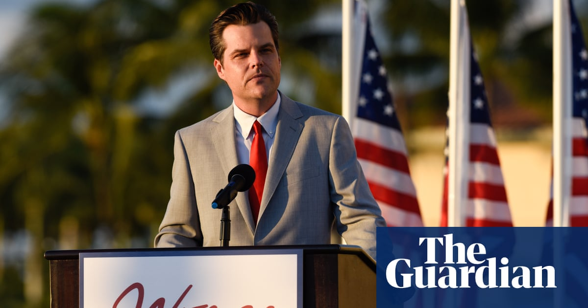 The veteran air force pilot hoping to oust scandal-hit Republican Matt Gaetz
