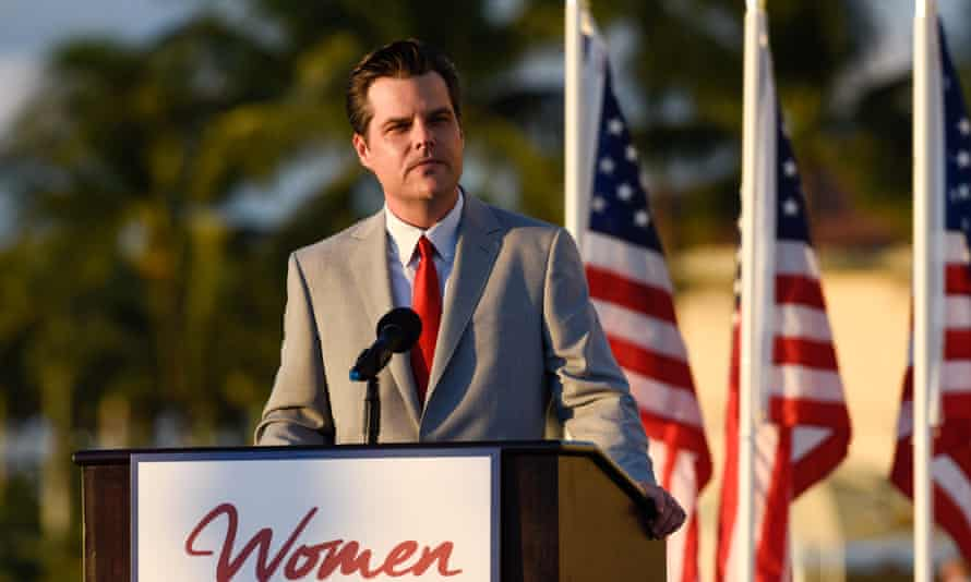 Matt Gaetz has gone from a high profile and pugilistic Trump ally to someone deeply mired in a damaging scandal.