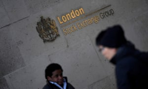 The London Stock Exchange Group offices in the City of London.