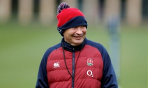 England head coach Eddie Jones appears to have relaxed his position on media access to the team.