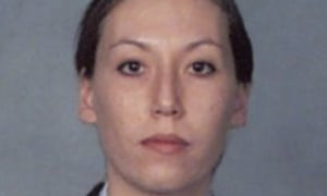 An image provided by the FBI shows part of the wanted poster for Monica Elfriede Witt.
