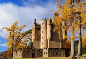 'A deliciously eccentric collection of local memorabilia': Braemar Castle, Aberdeenshire.