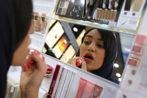 Some of France's biggest cosmetic brands are hoping a huge market opens up for them in Iran.
