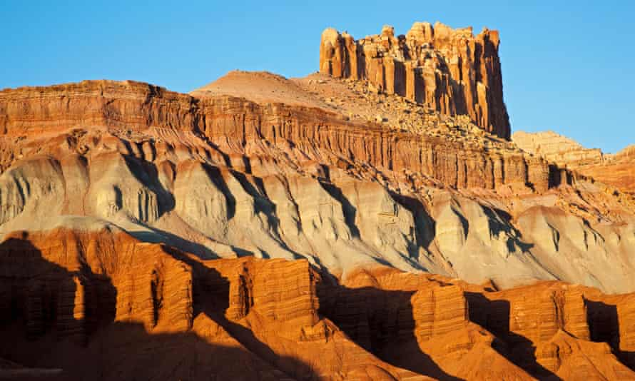 The Castle, Capitol Reef national park, Utah, USA