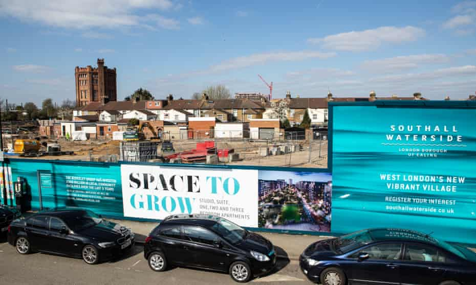 Nearly 4,000 homes are planned for the brownfield site in Southall, west London.