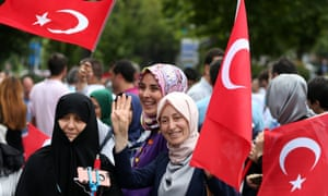 Rally in Istanbul to mark  first anniversary of coup