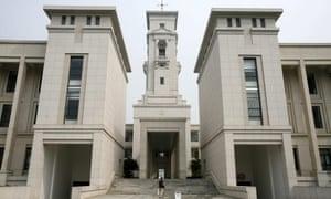 The University of Nottingham campus in Ningbo, China.
