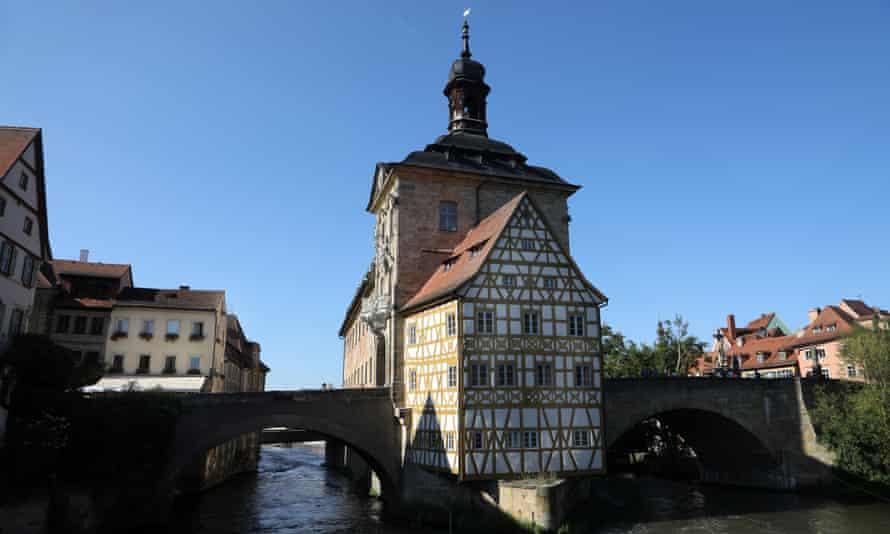 Bamberg, where Hegel became an editor of a local newspaper.