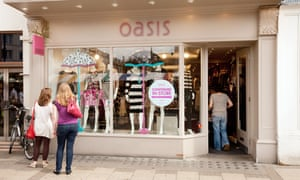 The Icelandic bank Kaupthing took control of Oasis and Warehouse in 2009 when the former parent group Mosaic collapsed into administration.