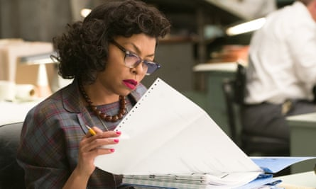 Playing Nasa mathematician Katherine Johnson in new film Hidden Figures.