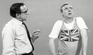 John Bluthal, left, with Spike Milligan 1965.