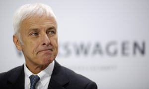 Matthias Müller said VW was limiting the economic effects of 'the diesel issue'.