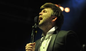 LCD Soundsystem perform at Madison Square Garden, New York
