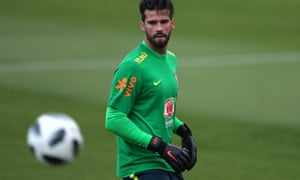 Roma's Alisson is a target for Liverpool.