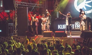 Kurupt FM perform in Ibiza.