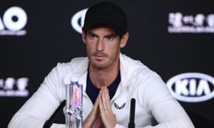 Andy Murray speaks after spending more than four hours before submitting to a heroic defeat to Roberto Bautista Agut in the first round of the Australian Open