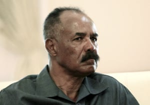 Eritrea's President Isaias Afwerki, pictured in Sudan last year