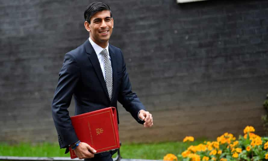 Rishi Sunak leaves Downing Street after a cabinet meeting