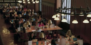A scene from Wiseman's new film, Ex Libris: The New York Public Library
