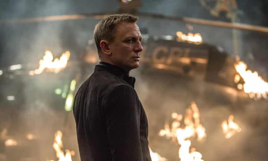 Daniel Craig in the most recent James Bond film, Spectre.