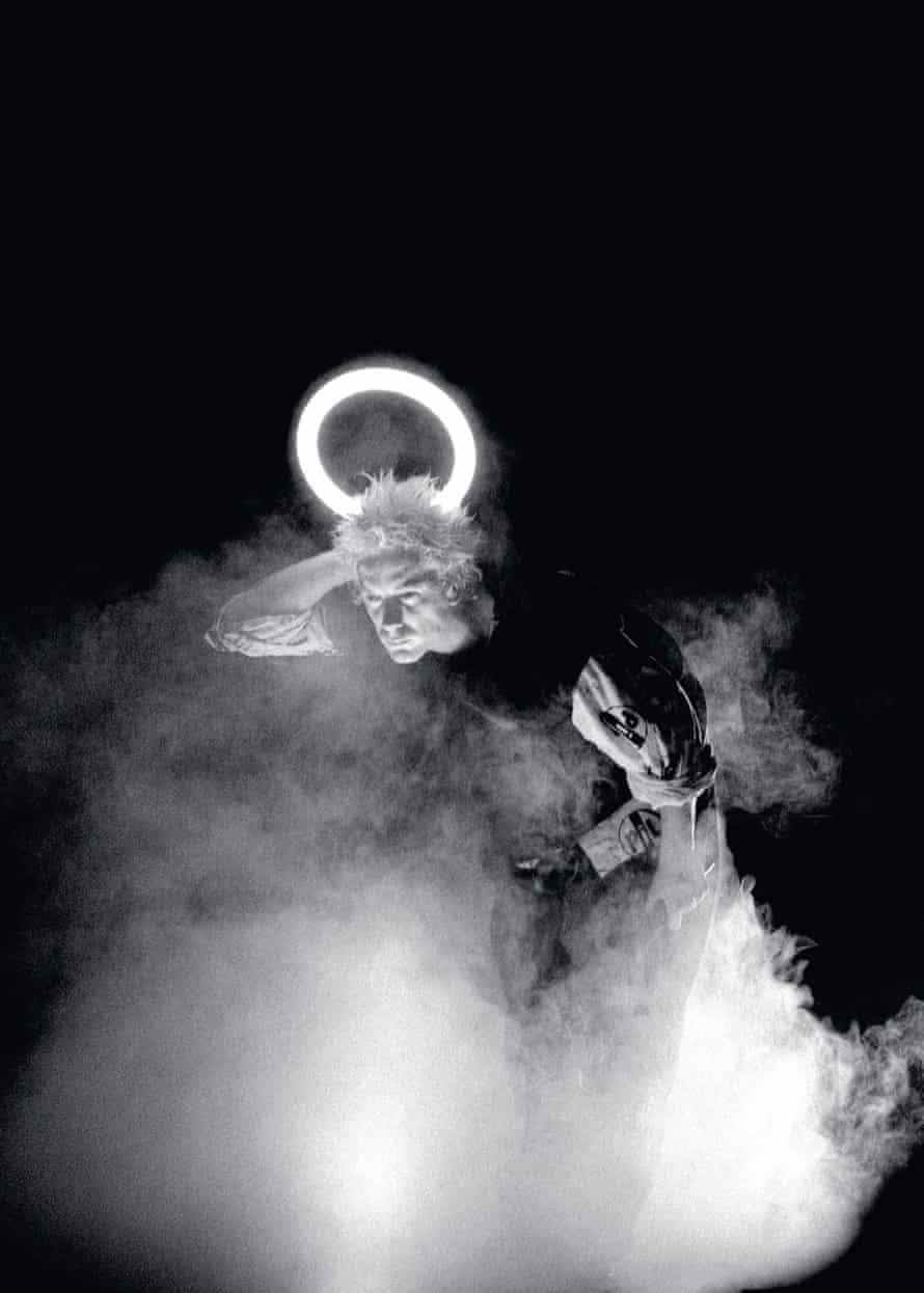 John Lydon at Lancaster University, 11 December 1983.