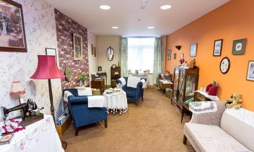 The Reminiscence Room was designed to capture the era of the 1950s