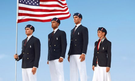 Ralph Lauren Olympics 2012 uniforms