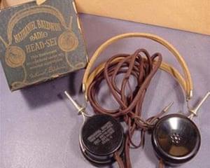 Nathaniel Baldwin's headphones, 1910