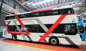 Wrightbus's prototype hydrogen bus.