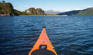 Loch Sunart is a base for canoe and kayak outings.