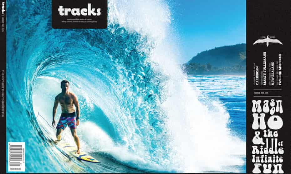 The front cover of the first edition of Tracks magazine under its new ownership