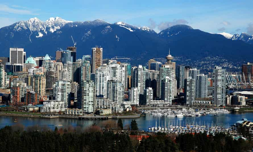 Vancouver is ranked sixth in the 2018 Economist Intelligence Unit's global liveability index.