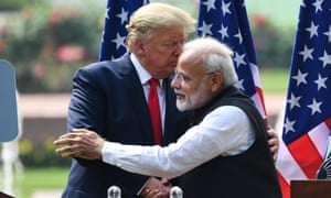'Despite the embrace between Trump and Modi, the erosion of democratic norms has already undermined the relationship.'
